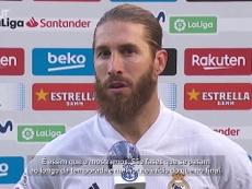 Sergio Ramos concedeu entrevista após a vitória sobre o Barcelona. DUGOUT