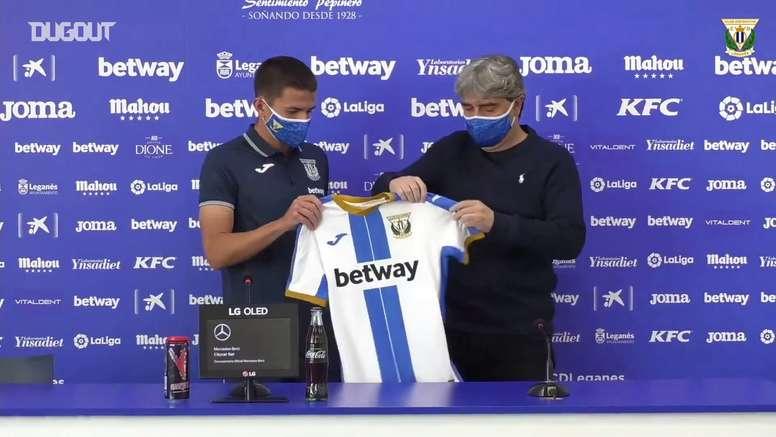 Sergi Palencia s'engage avec Leganes. DUGOUT