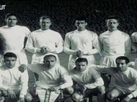 Puskas, cette légende du Real Madrid. Dugout
