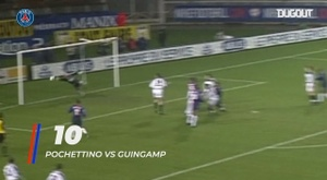 PSG's top 10 goals scored by Argentinians. DUGOUT