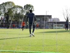 América prepare for the second leg against Chivas. DUGOUT
