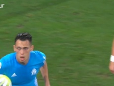 Lucas Ocampos scored some great goals for Marseille. DUGOUT