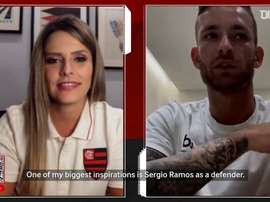 VIDEO: Léo Pereira reveals Sergio Ramos as his biggest inspiration. DUGOUT