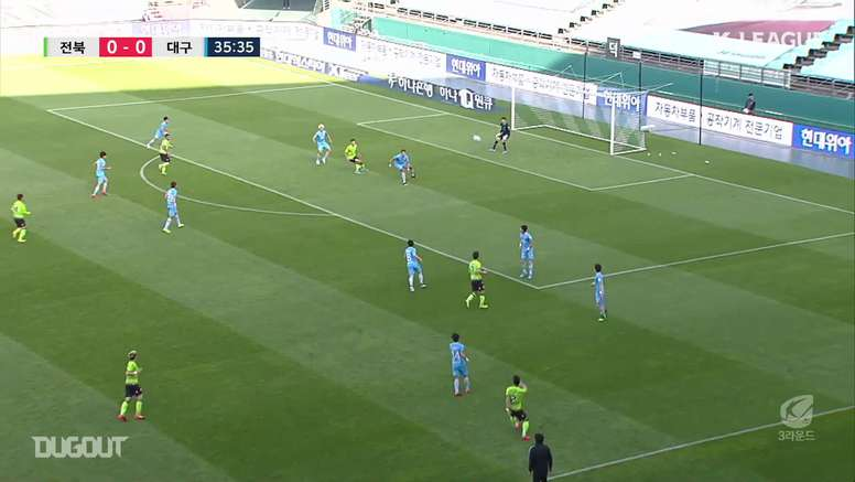 Jeonbuk recorded their third win in a row in the K-League on Sunday. DUGOUT