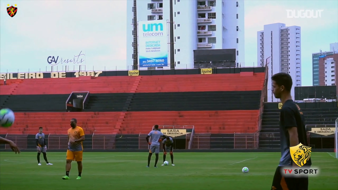 Video Sport Recife Continue To Train Ahead Of The Brazilian Championship Start Besoccer