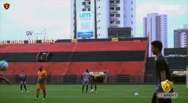Sport Recife continue to train. DUGOUT