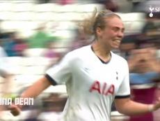 Gols do time feminino do Tottenham em 2019/20. DUGOUT