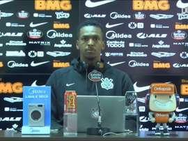 Jô fala sobre comparações entre time de 2017 e de 2020 do Corinthians. DUGOUT