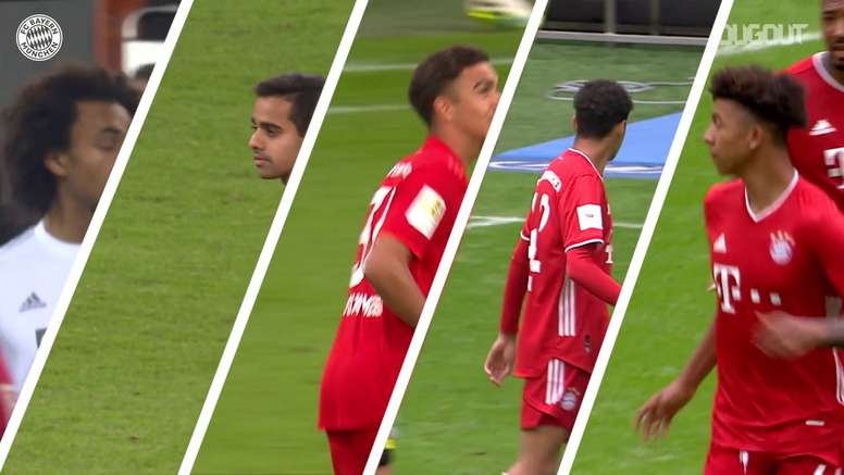 Atletas do Bayern que subiram da base em 2019/20. DUGOUT