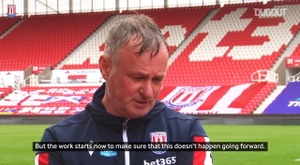 Stoke have stayed up. DUGOUT