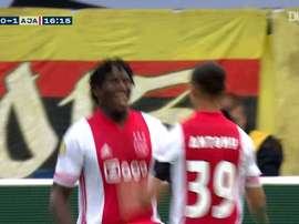 Lassina Traoré's five-goal display vs VVV-Venlo. DUGOUT