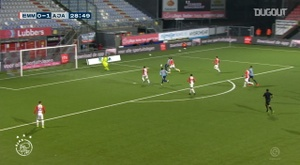 Davy Klassen scored and then assisted in Ajax's 0-5 win at Emmen. DUGOUT