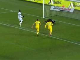 A stunning goal. DUGOUT