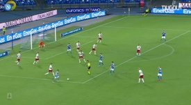VIDEO: Insigne curls in late winner for Napoli against Roma. DUGOUT
