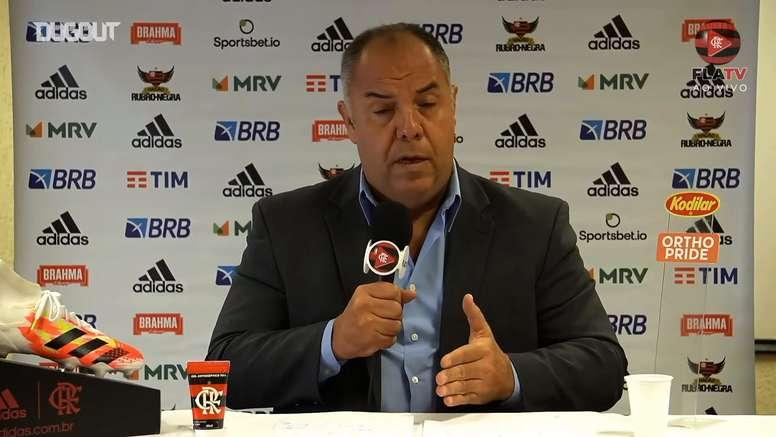 Marcos Braz explicou como foi a conversa com Rafinha. DUGOUT