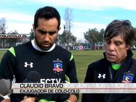 El chileno volvió al equipo en el que se formó durante unos días. DUGOU
