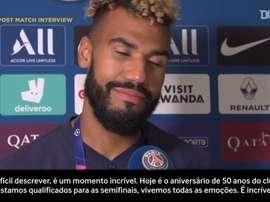 Choupo-Moting fala sobre emoção após decidir para o PSG. DUGOUT