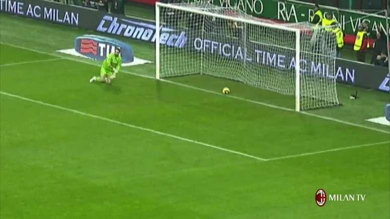 TOP 5 buts AC Milan vs Naples. Dugout