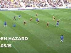 Eden Hazard no podía faltar en el listado. DUGOUT