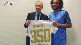 Le 350 vittorie di Marcelo. Dugout