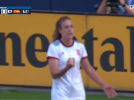 A Espanha derrotou a Inglaterra pela SheBelieves Cup de 2020 com gol Alexia Putellas. DUGOUT