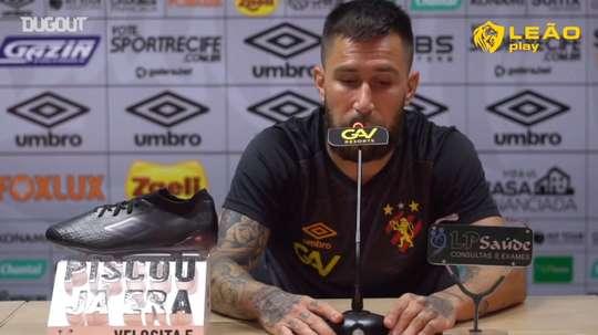Jonatan Gomez projetou o restante do Brasileirão para o Sport. DUGOUT