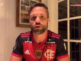 Meia do Flamengo, Diego fala sobre a expectativa para a retomada do futebol. DUGOUT