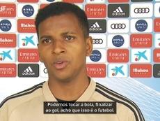 Rodrygo explica preparação do Real Madrid para retorno da LaLiga. DUGOUT