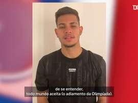 Bruno Guimarães pede bom senso para jogar Olimpíada em 2021. DUGOUT