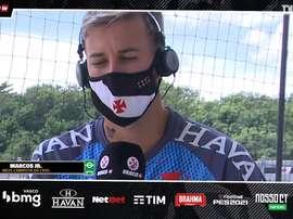 Marcos Júnior vê Vasco mais forte e confiante para Sul-Americana. DUGOUT