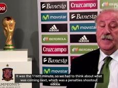 VIDEO: Vicente del Bosque remembers Iniesta's goal. DUGOUT