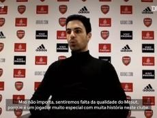 Arteta fala sobre saída de Özil. DUGOUT
