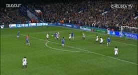 Ba scored for Chelsea. DUGOUT