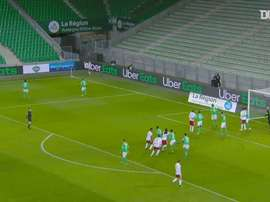 Tino Kadewere's second brace in second game vs Saint-Etienne. DUGOUT