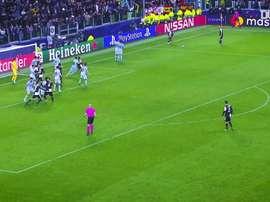Les meilleurs buts de la Juventus en Novembre. dugout