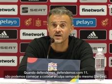 Técnico da Espanha defende De Gea em derrota da Espanha. DUGOUT