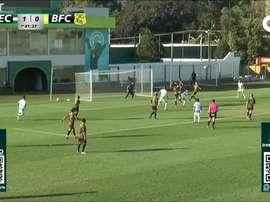 Melhores momentos do amistoso entre Goiás e Brasiliense. DUGOUT