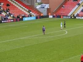 Manchester City Women win five-goal thriller vs Manchester United. DUGOUT
