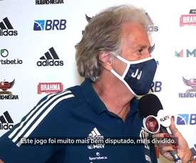 Confira a entrevista de Jorge Jesus após o jogo do Flamengo. DUGOUT