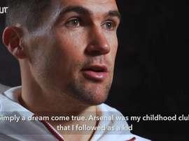 Mat Ryan's first Arsenal interview. DUGOUT