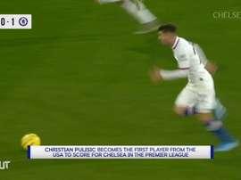 Pulisic ya mató al Burnley con tres zarpazos en 2019. DUGOUT