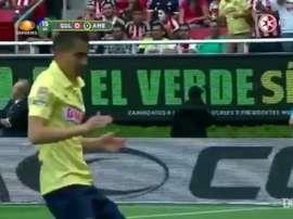 Aguilar scored a great goal. DUGOUT