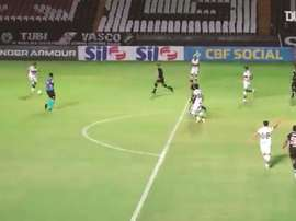 Hugo Moura scored the only goal of the game as Coritiba won at Vasco. DUGOUT