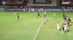 Hugo Moura scored the only goal of the game as Coritiba won at Vasco. DUGOUT