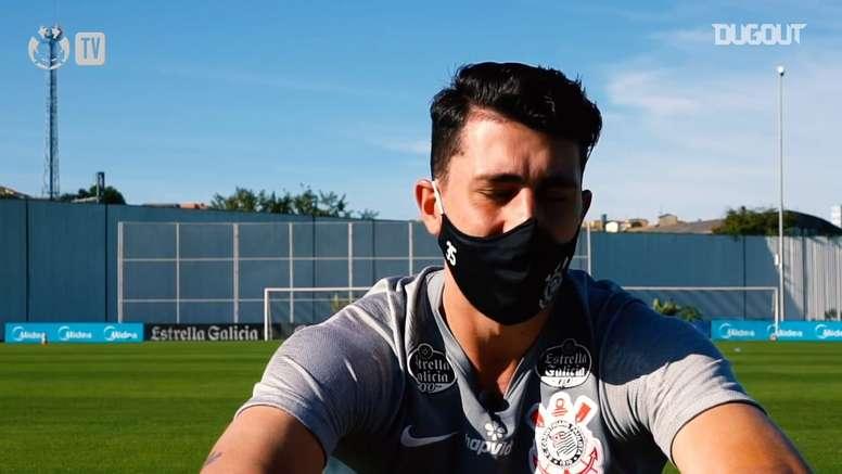 Danilo Avelar mudou de posição no Timão. DUGOUT
