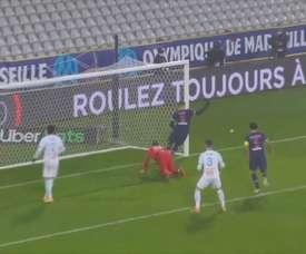 Les buts parisiens en finale du Trophée des Champions face à l'OM. DUGOUT