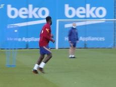 Philippe Coutinho volta aos treinos com restante do grupo do Barcelona. DUGOUT