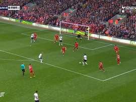 Kane scored for Tottenham. DUGOUT