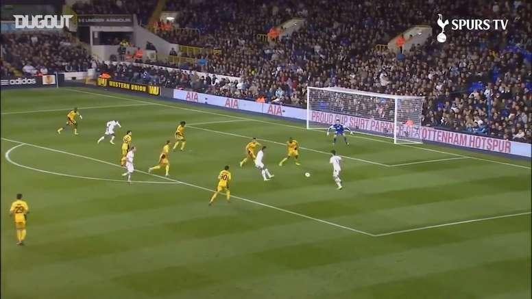 VIDEO: Some of Spurs best Europa league goals. DUGOUT