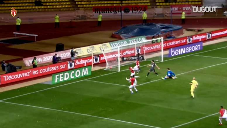 Anthony Martial netted his first Monaco goal in 2014. DUGOUT